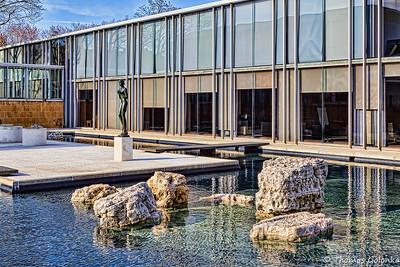 McGregor Pond and Sculpture Garden