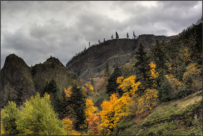 Gorge Fall, DSLR, HDR, 2013