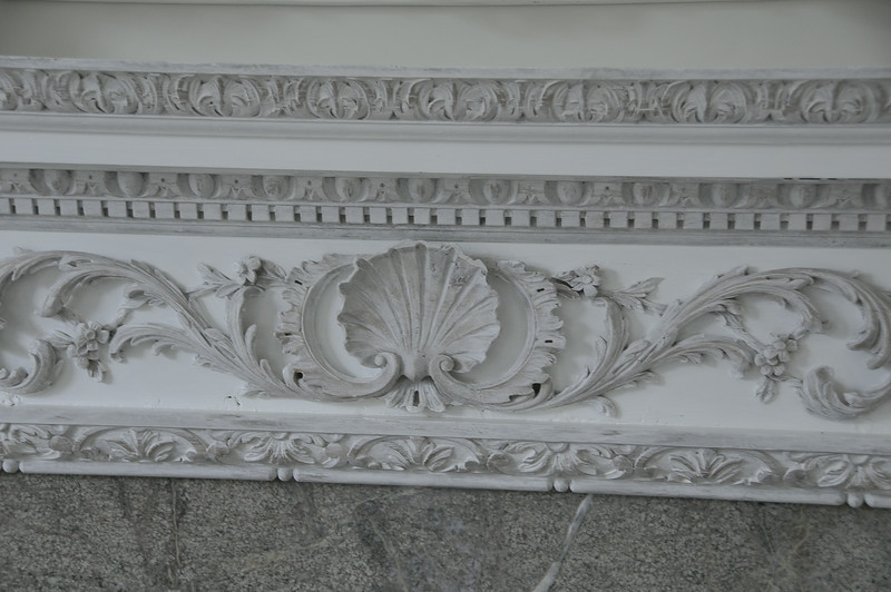Decorative Painting of Mantle