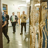 Gardner Mayor Mark Hawke and State Representative Jon Zlotnik tour the new Dr. Daniel M. Asquino Science Center at Mount Wachusett Community College on Tuesday afternoon. SENTINEL & ENTERPRISE / Ashley Green