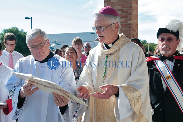 Dedication of St. Joseph Catholic Church Waxahachie