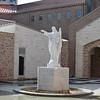 Sacred Heart Statue in Atrium