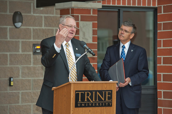 2015 Larry and Judy Reiners Residence Hall Dedication