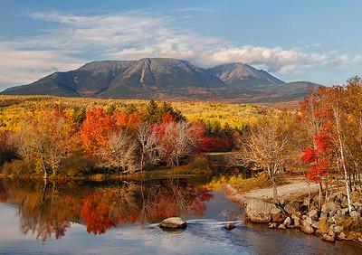 Mount Katahdin Autumn