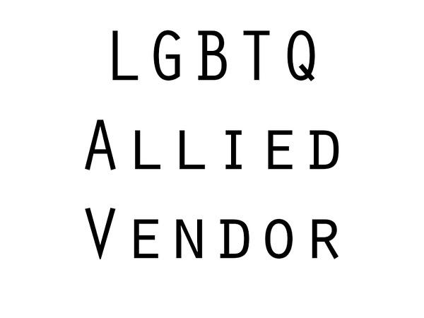 LGBTQ Allied Vendor