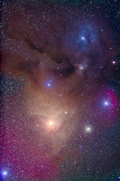 Antares & Rho Ophiuchi Area (77mm 5DII)