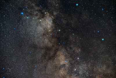 Scutum Starcloud in the Milky Way