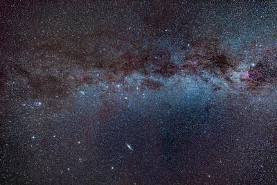 The Autumn Milky Way (Perseus to Cygnus)