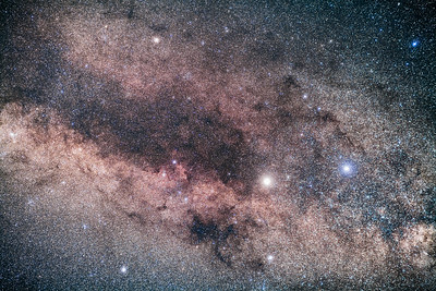 Alpha and Beta Centauri and the Dark Lanes of Centaurus