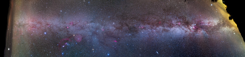 Panorama of the Northern Milky Way