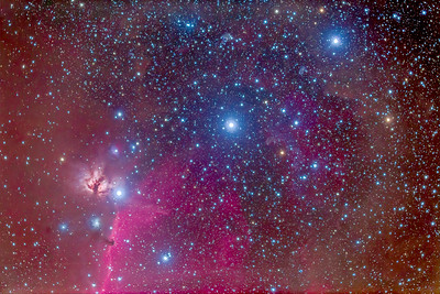 Belt of Orion & B33 Horsehead Nebula (92mm 6D)