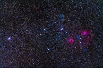 The Clusters and Nebulas of Auriga