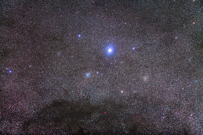 Becrux, in the Southern Cross