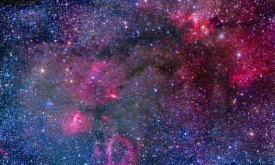 Bubble & Cave Nebula Mosaic