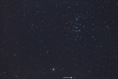2004 BL86 Approaching Beehive Cluster