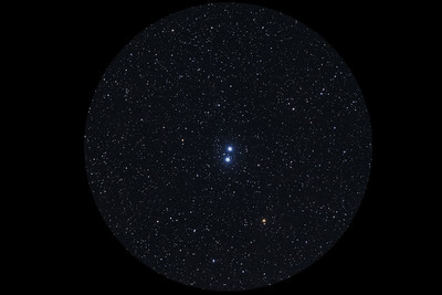 Epsilon Lyrae (Double-Double Star) - Eyepiece View
