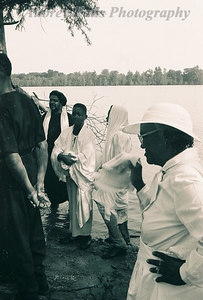 Baptising Lady