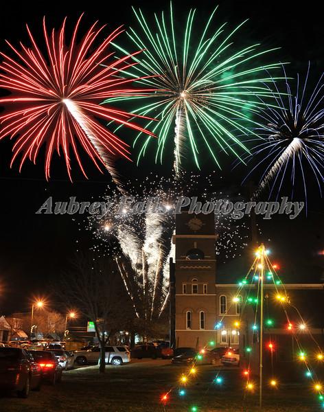 2013 Christmas Fireworks
