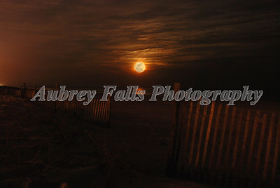 Orange Beach Moonrise BLENDED