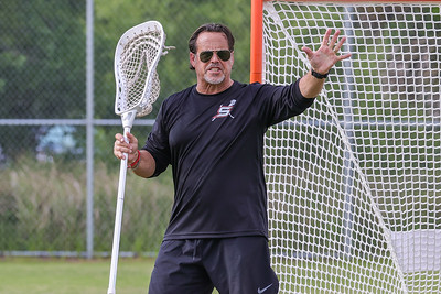 Apr 28, 2021, Orlando, FL, USA; Coach Sash's annual goalie clinic with special guest PLL Whipsnakes Matt Rambo at XL Soccer World. Mandatory credit: Mike Watters