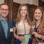 Aaron Rosenberg of Oasis Solutions, Abby Shue of Fund for the Arts and Nicole Eovino.