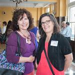 Sharon LaRue and Denise Olding.