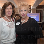 Dr. Beverly Keens of Spalding University and Carolee Allen of Luckett and Farley.