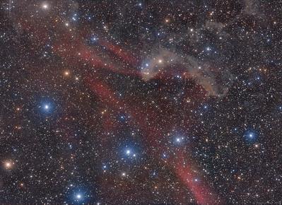 Lynds Bright Nebula 437 and Sh2-126