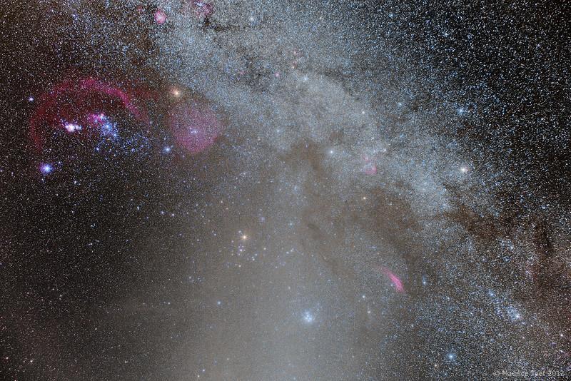 Winter Milky Way with Gegenschein