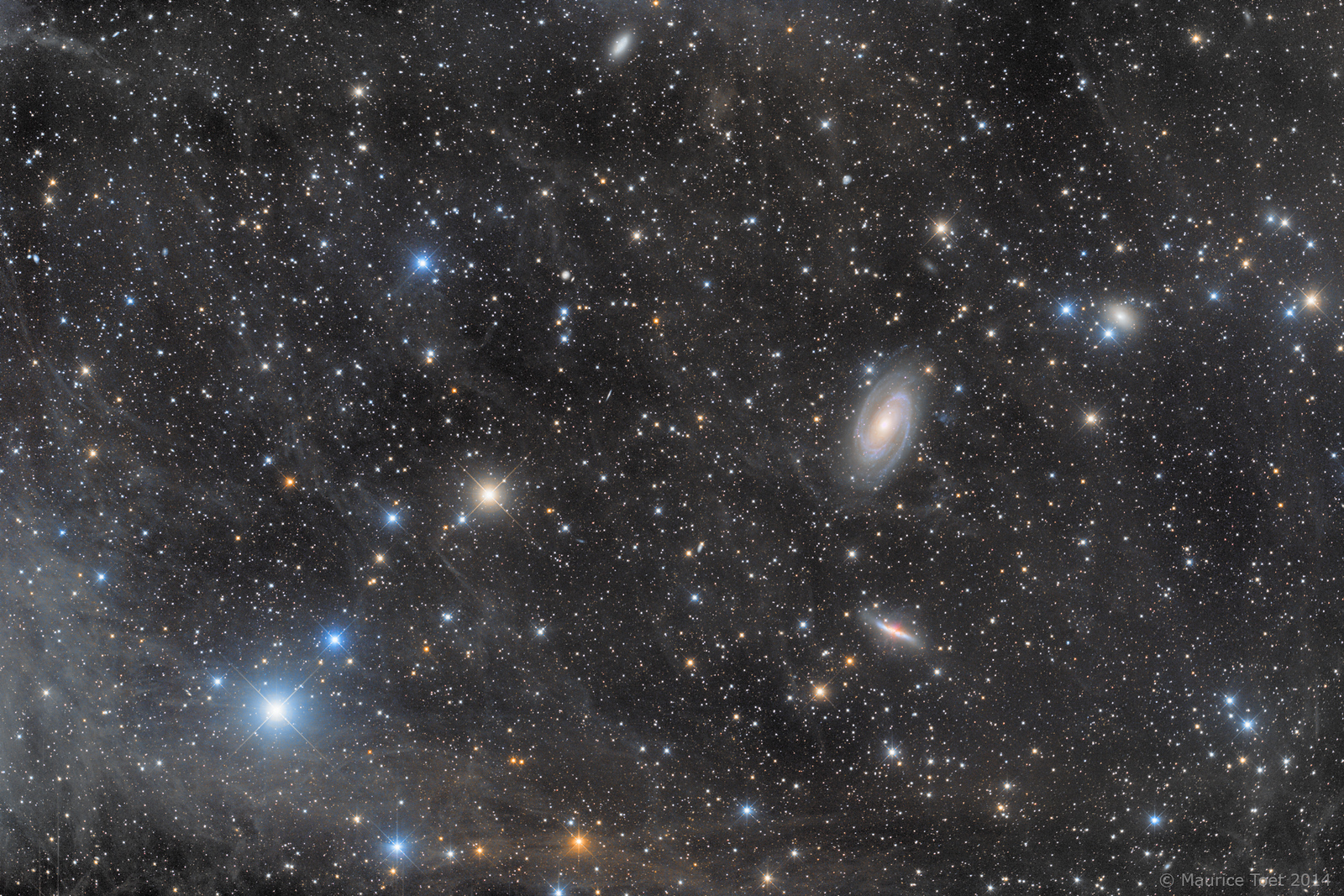 M81, M82 and the Integrated Flux Nebula