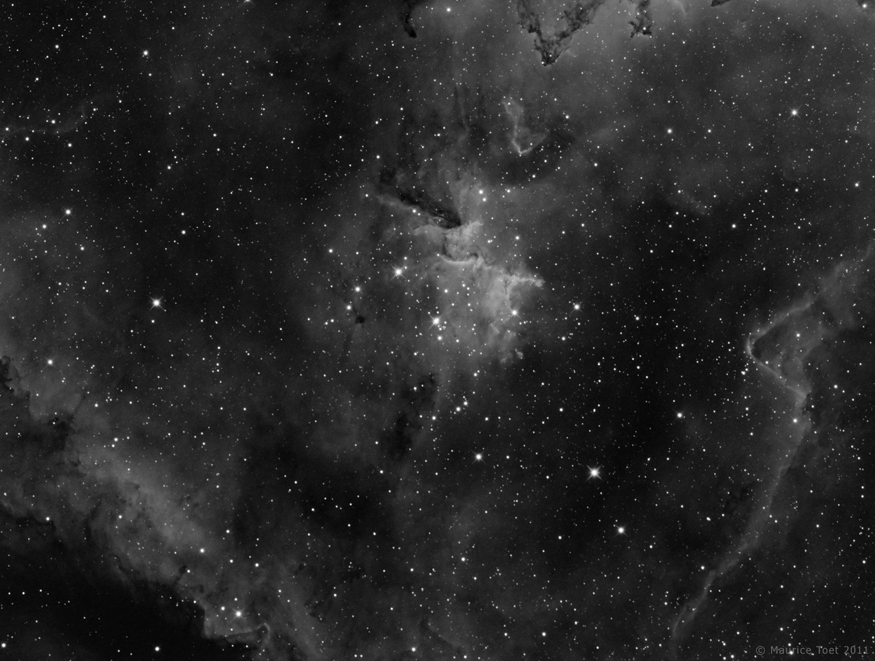 IC 1805, Hart Nebula