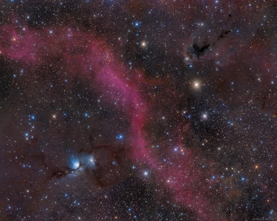 Barnard's Loop, M78 & LDN 1622