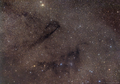 Lynds Dark Nebula 778 & 772 and Lynds Bright Nebula 133