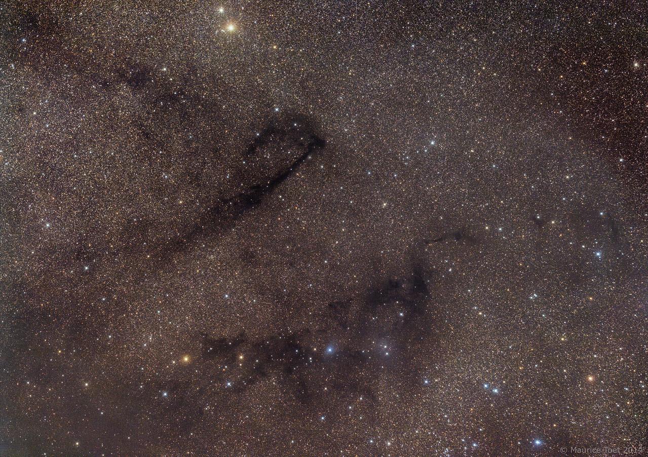 Lynds Dark Nebula 778 & 772 and Lynds Bright Nebula 133