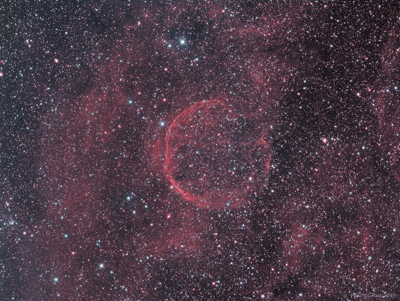 CTB1 (SNR G116.9+00.1), Abell 85