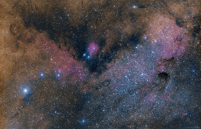 IC 1284 and surroundings