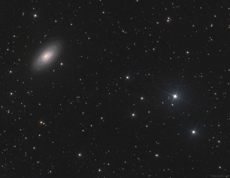 M64, Black Eye Galaxy (crop)