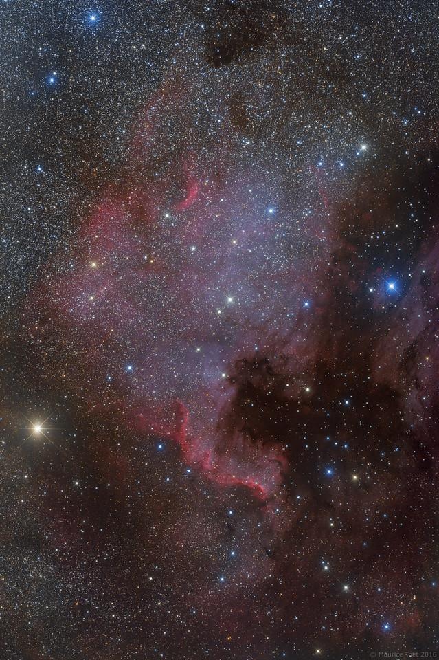 NGC 7000, North America Nebula
