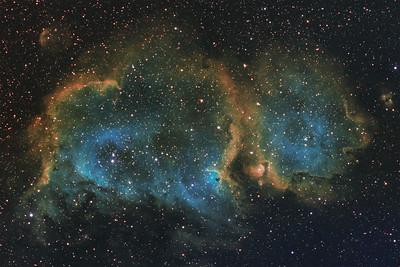 IC1848 | The Soul nebula (SHO)