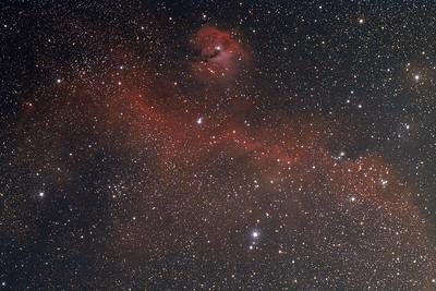IC2177 | Seagull nebula in Monoceros