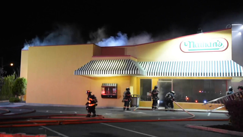 Deer Park Building Fire (Nathans)- Paul Mazza
