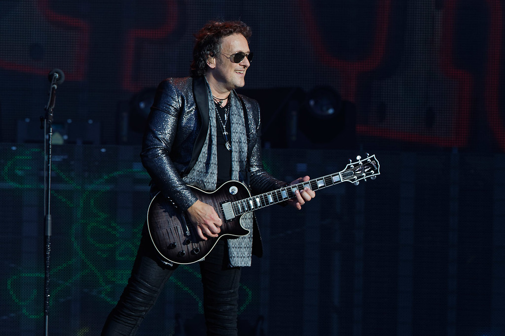 . Journey live at Comerica Park on 7-13-2018. Photo credit: Ken Settle