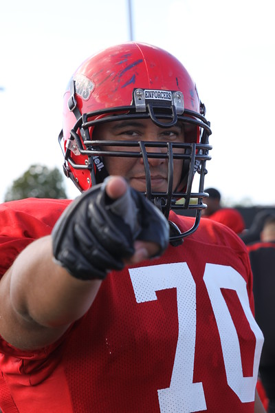 Enforcer OT #70 Chris Flores, San Diego Probation