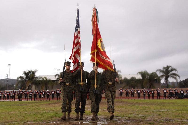 United States Marine Color Guard