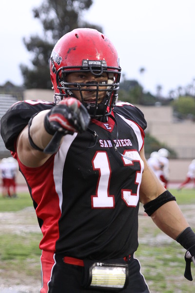 #13 Jason Burk LB