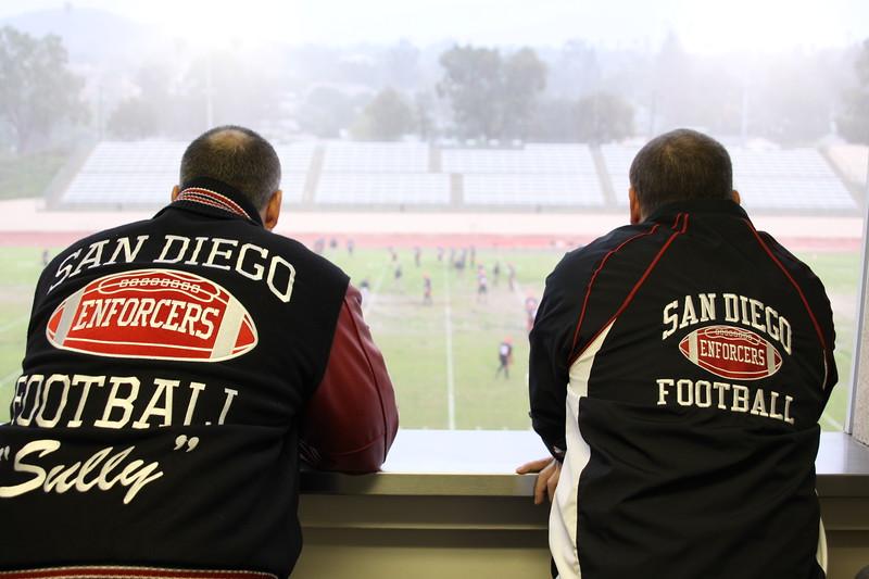 Enforcer President Jason Sullivan and Vice President Greg Ellis.