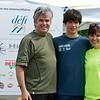 Mikaël Kingsbury et ses parents