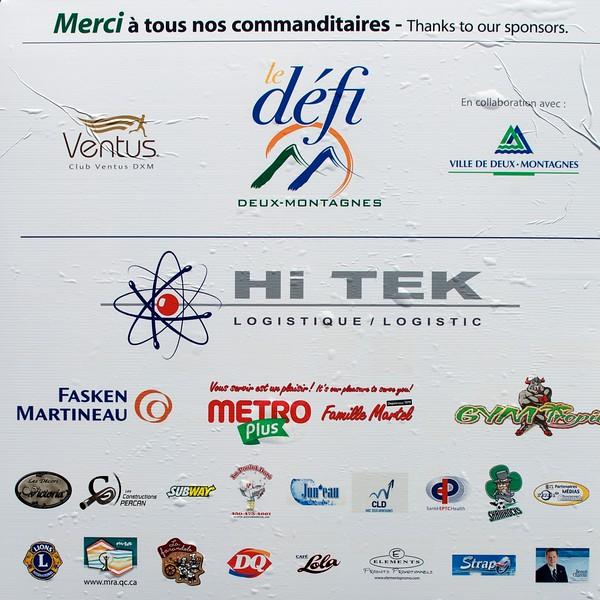 Merci aux commanditaires de l'événement. Thanks to the event sponsors.