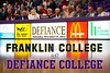 Saturday, December 15, 2012 - Franklin College Griz at Defiance College Yellow Jackets - Women's Basketball