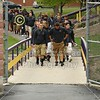The Yellow Jackets arrive at Justin F. Coressel Stadium - Saturday, September 1, 2012 - Albion College Britons at Defiance College Yellow Jackets